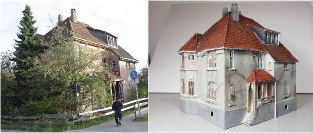Voorbeeld en model ingangszijde